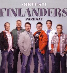 Finlanders - Oikeesti parhaat [2010] - kansi